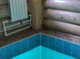 Общественная баня на дровах